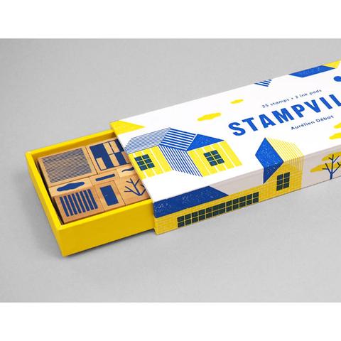 PAPress Stempelsett - Stampville -