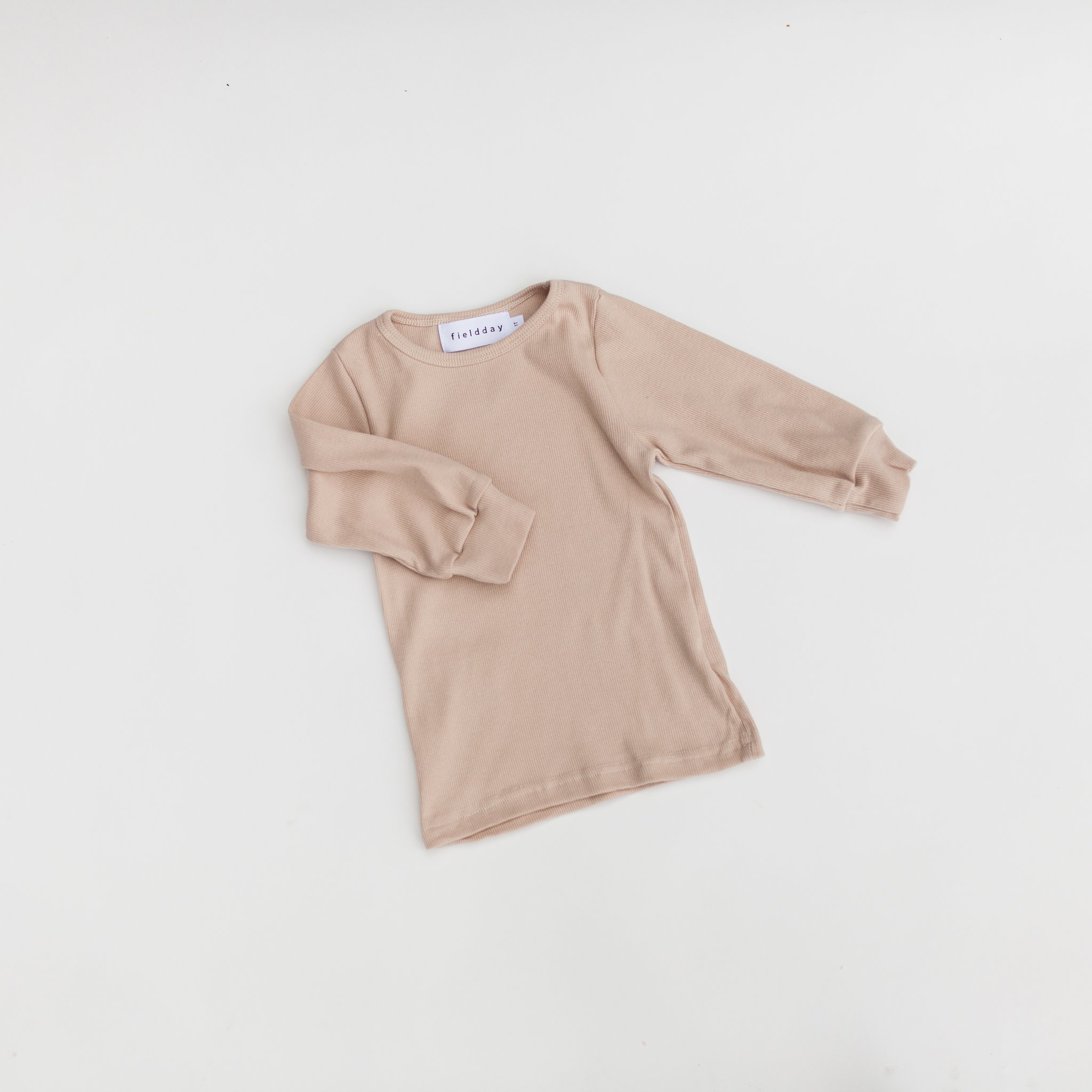 FIELDDAY Longsleeve - Putty -