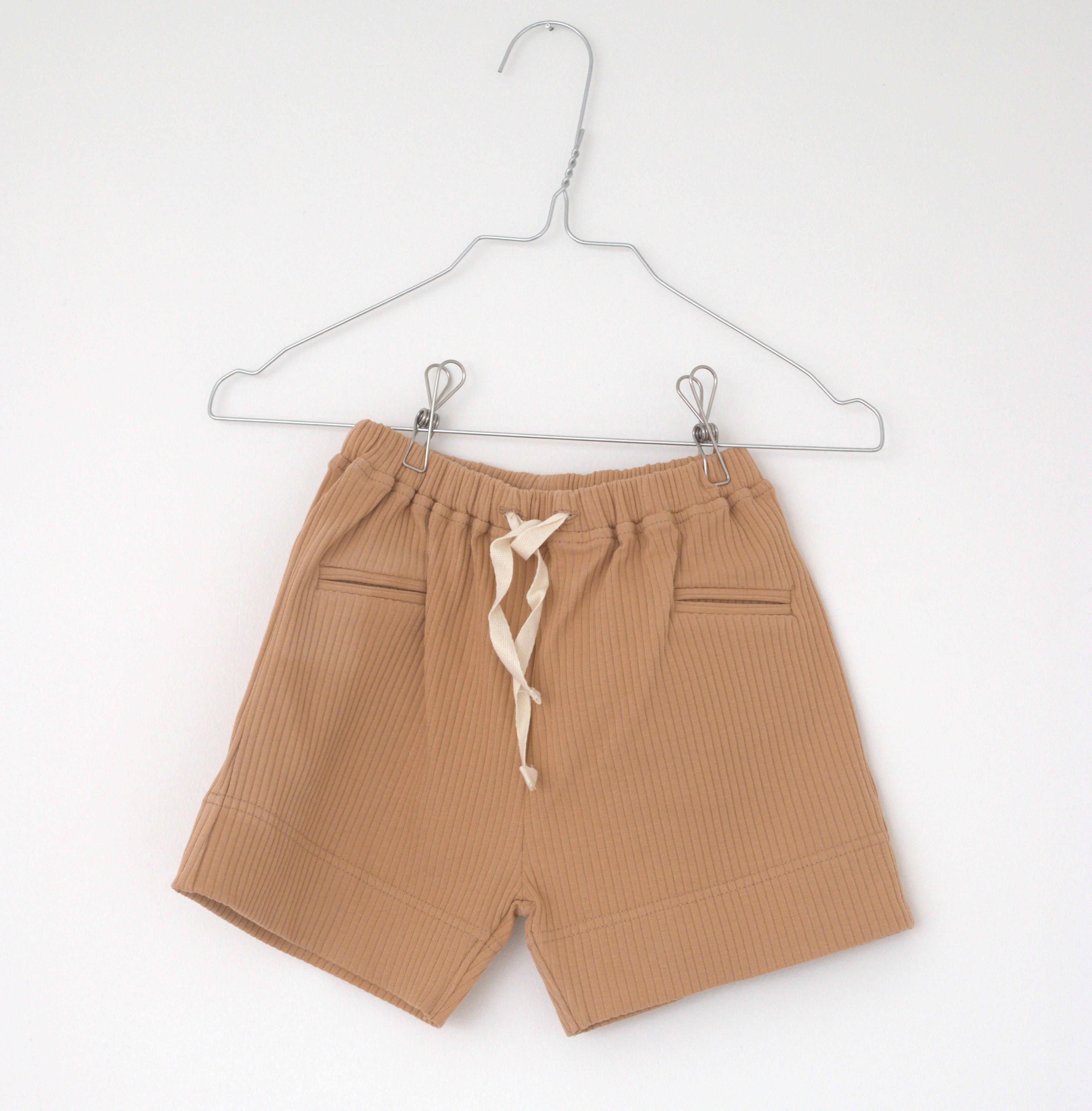 Lah Lan Rib shorts - Baked -