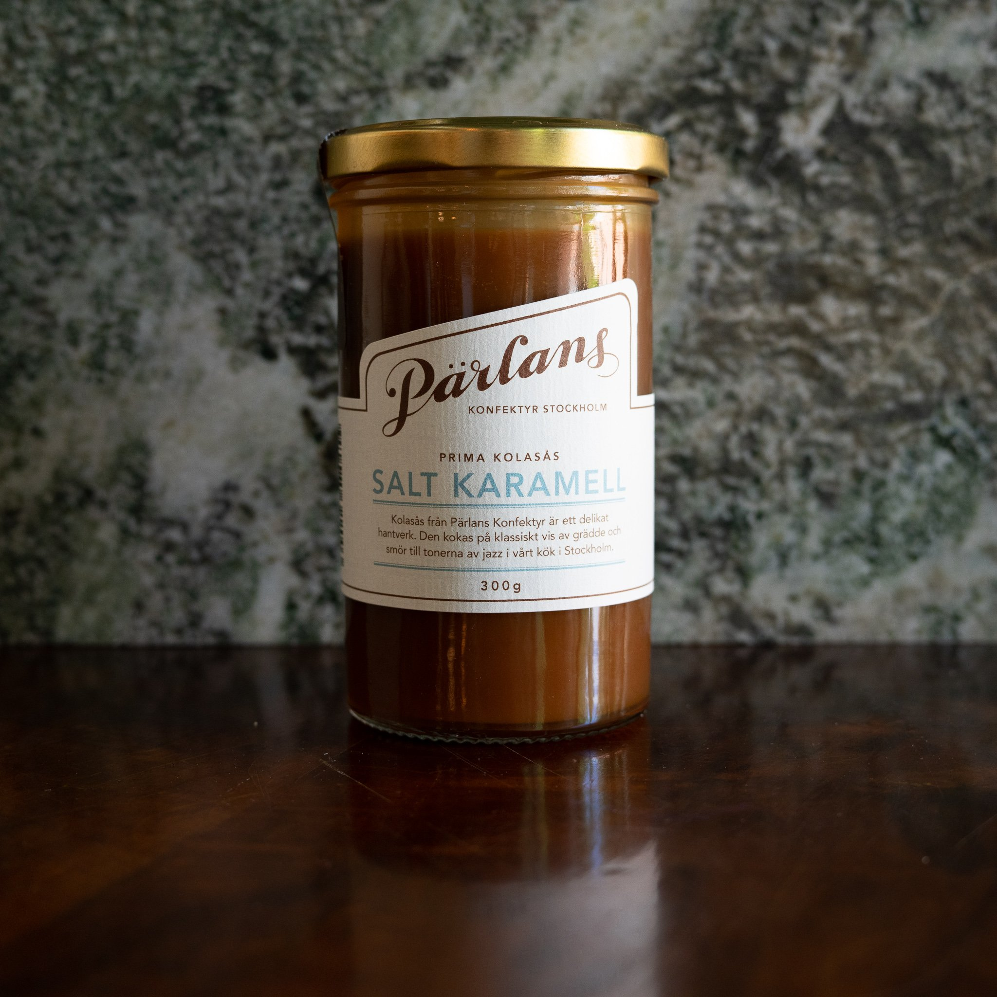 Pärlans Karamellsaus med salt karamell