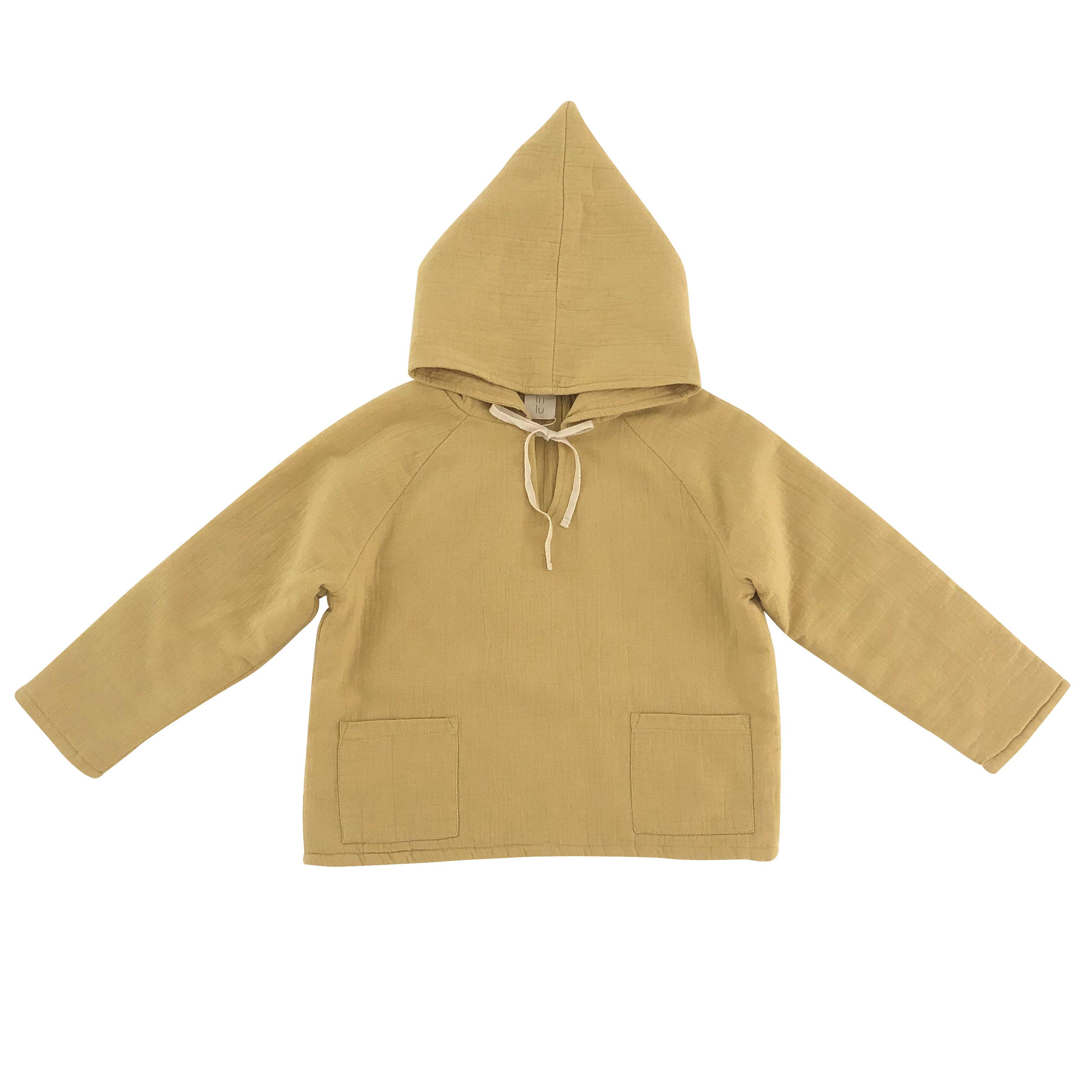 Liilu kaori hoodie mustard