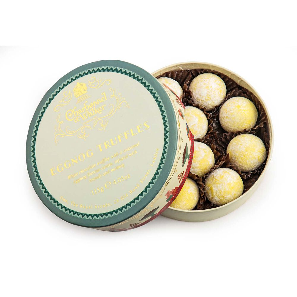 Charbonnel et Walker Eggnog truffles