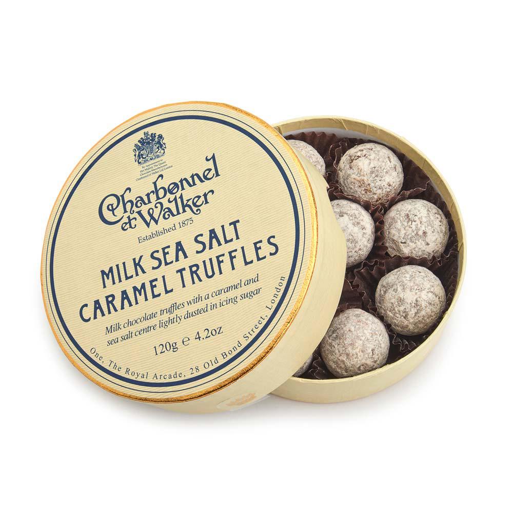 Charbonnel et Walker - Milk Sea salt Caramel truffles -