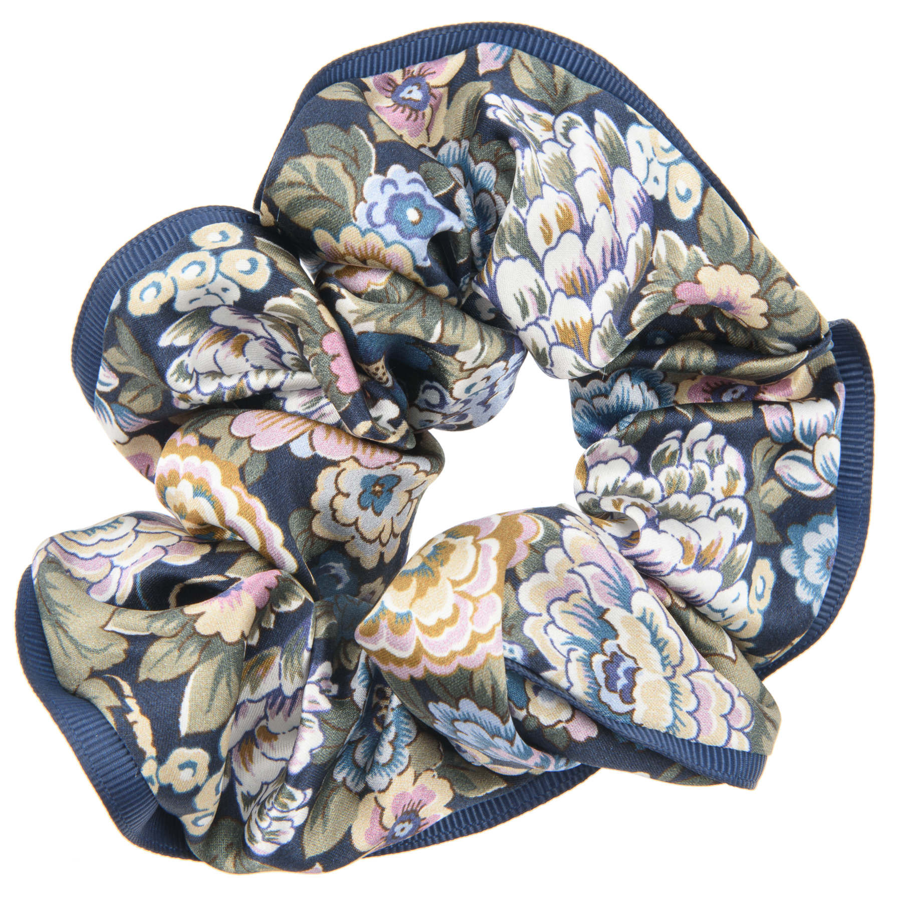 BON DEP Liberty silk scrunchie - Elysian -
