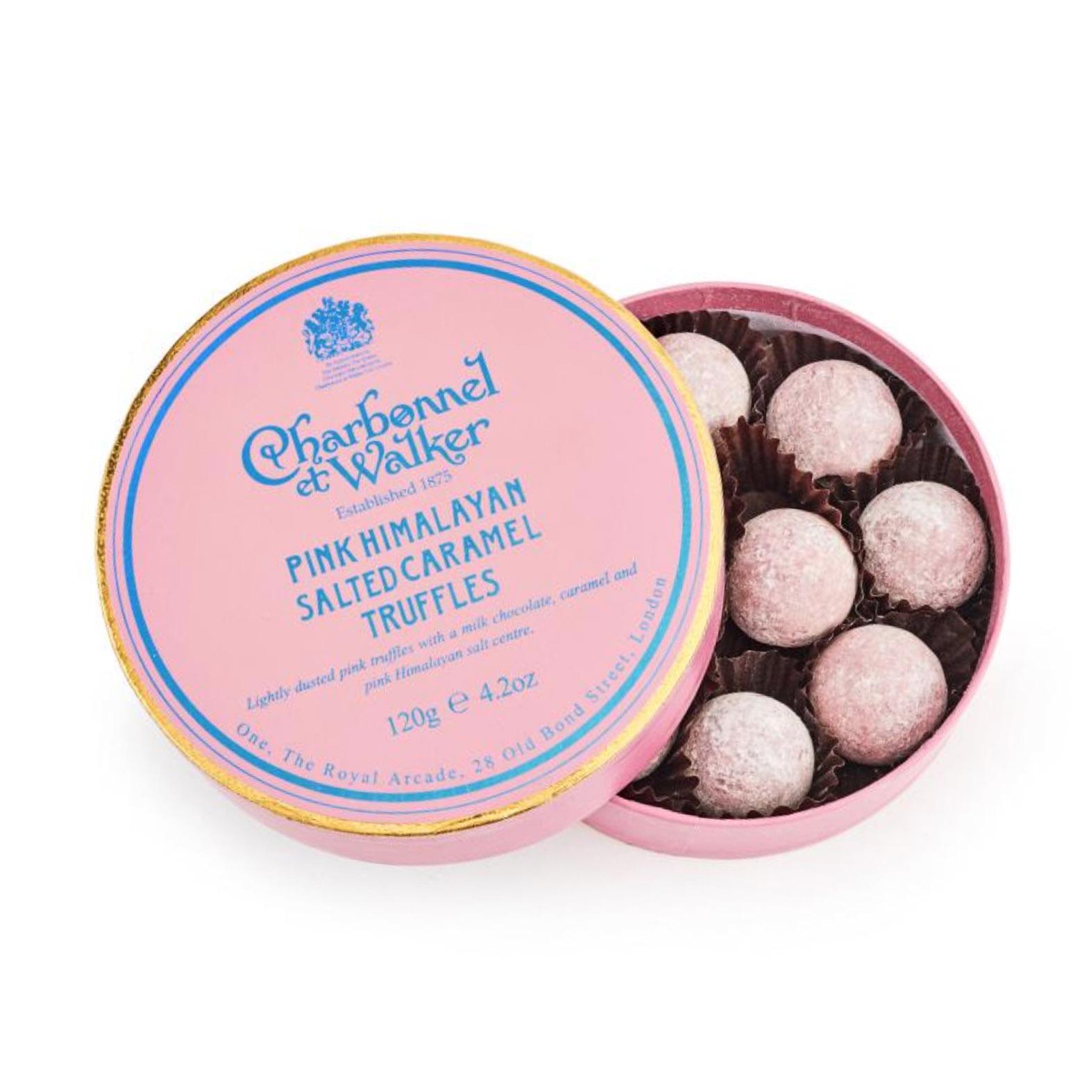 Charbonnel et Walker - Pink Himalayan salt caramel truffles -
