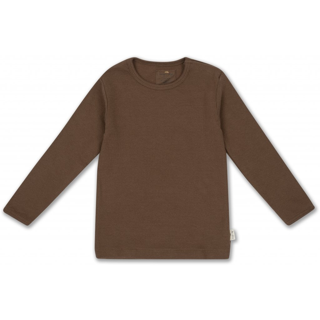 KONGES SLØJD Siff blouse - Walnut -