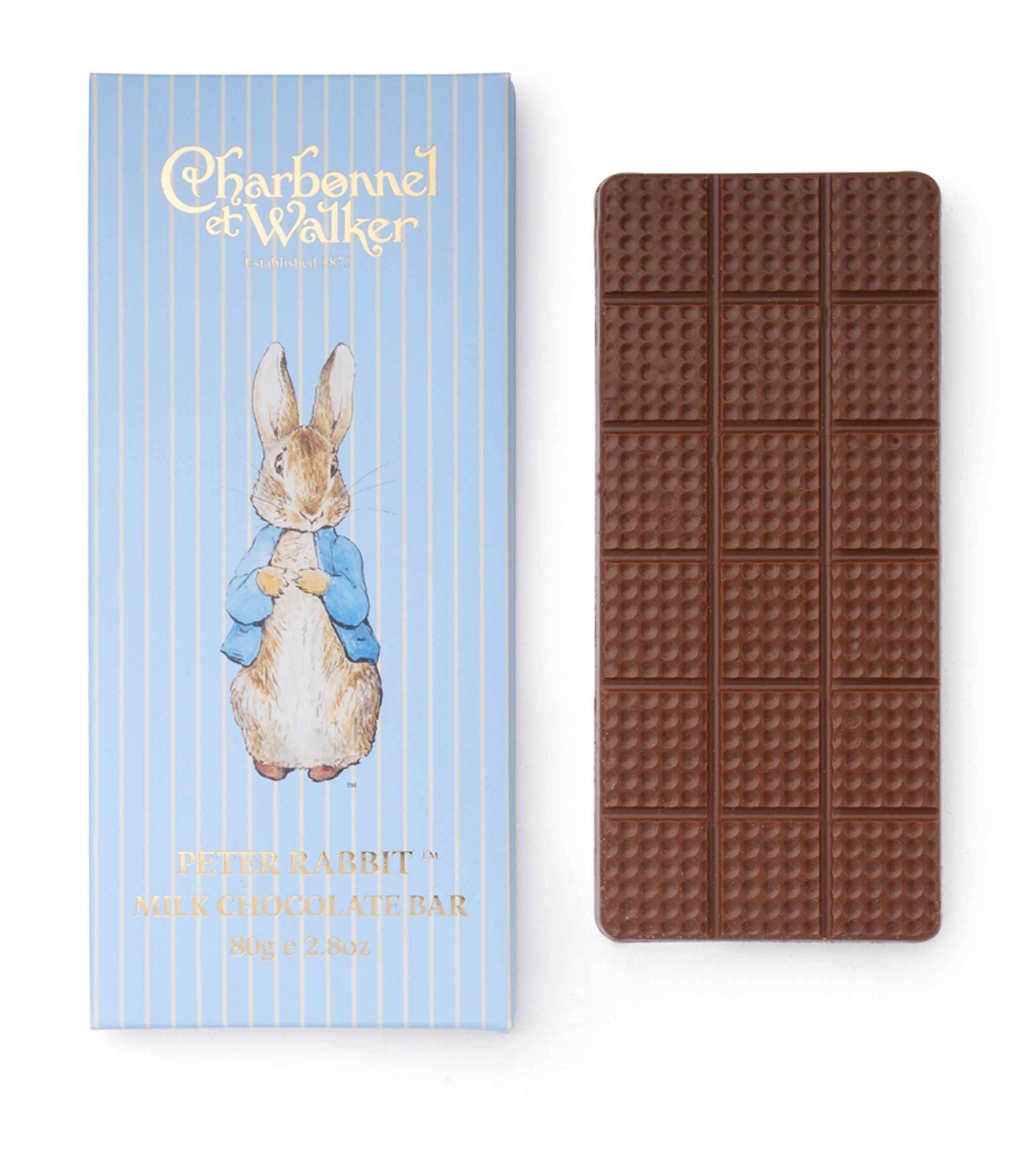 Charbonnel et Walker - Peter Rabbit Milk chocolate bar -