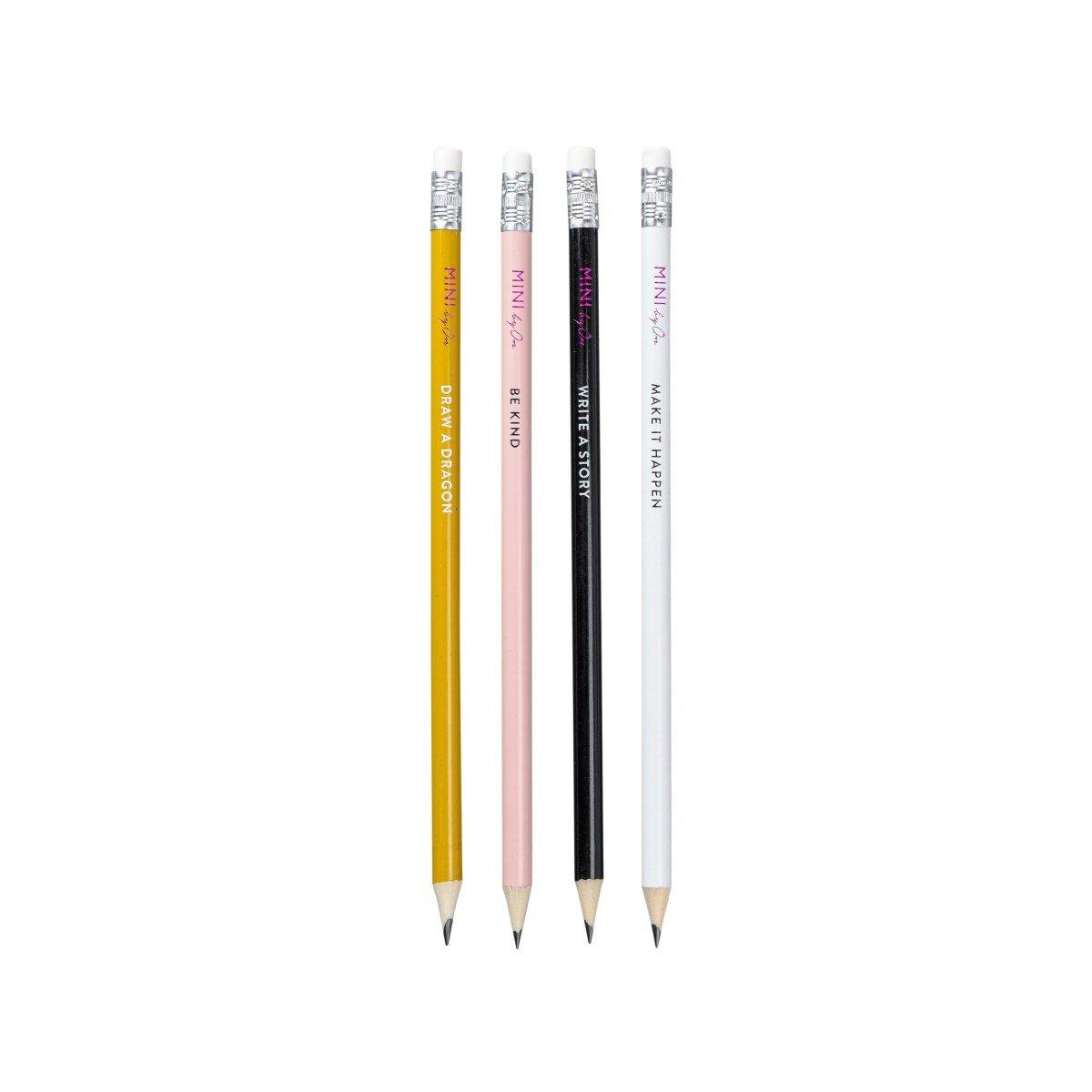 By On Sett med 4 blyanter