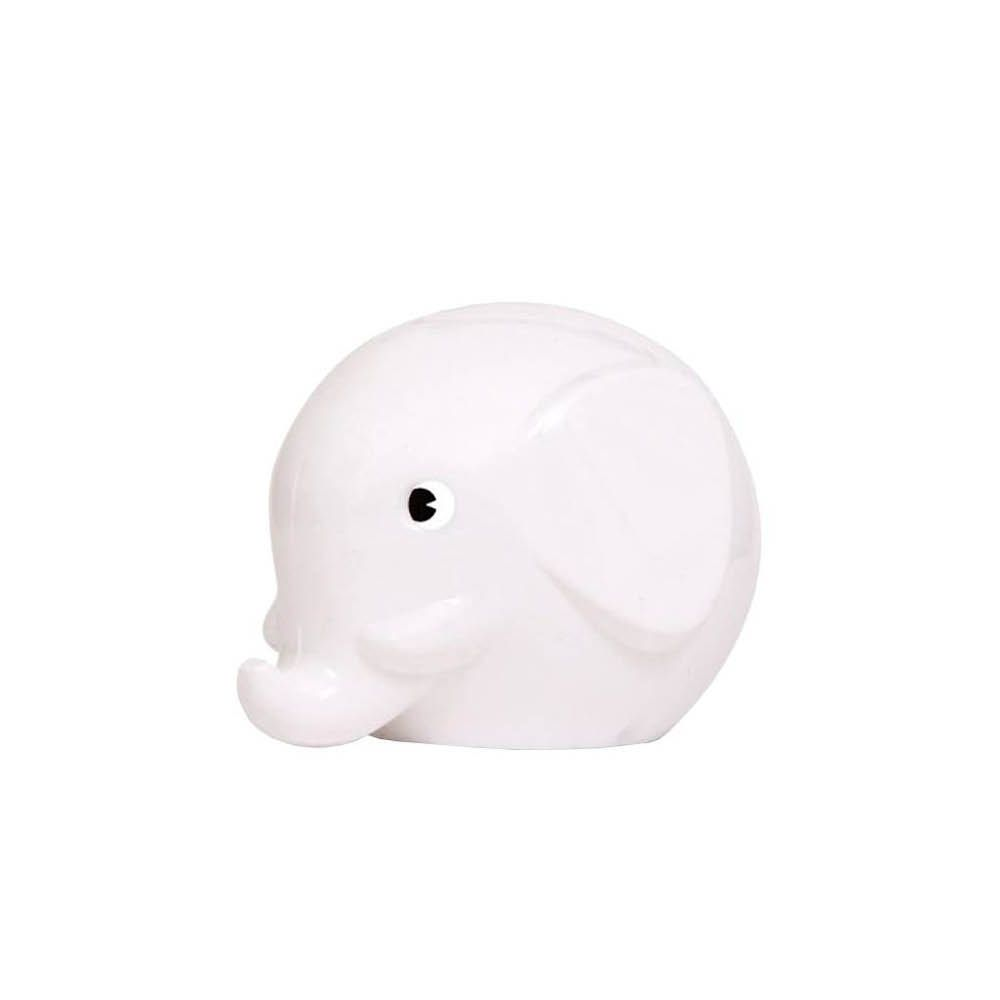 Norsu stor elefant sparebøsse hvit