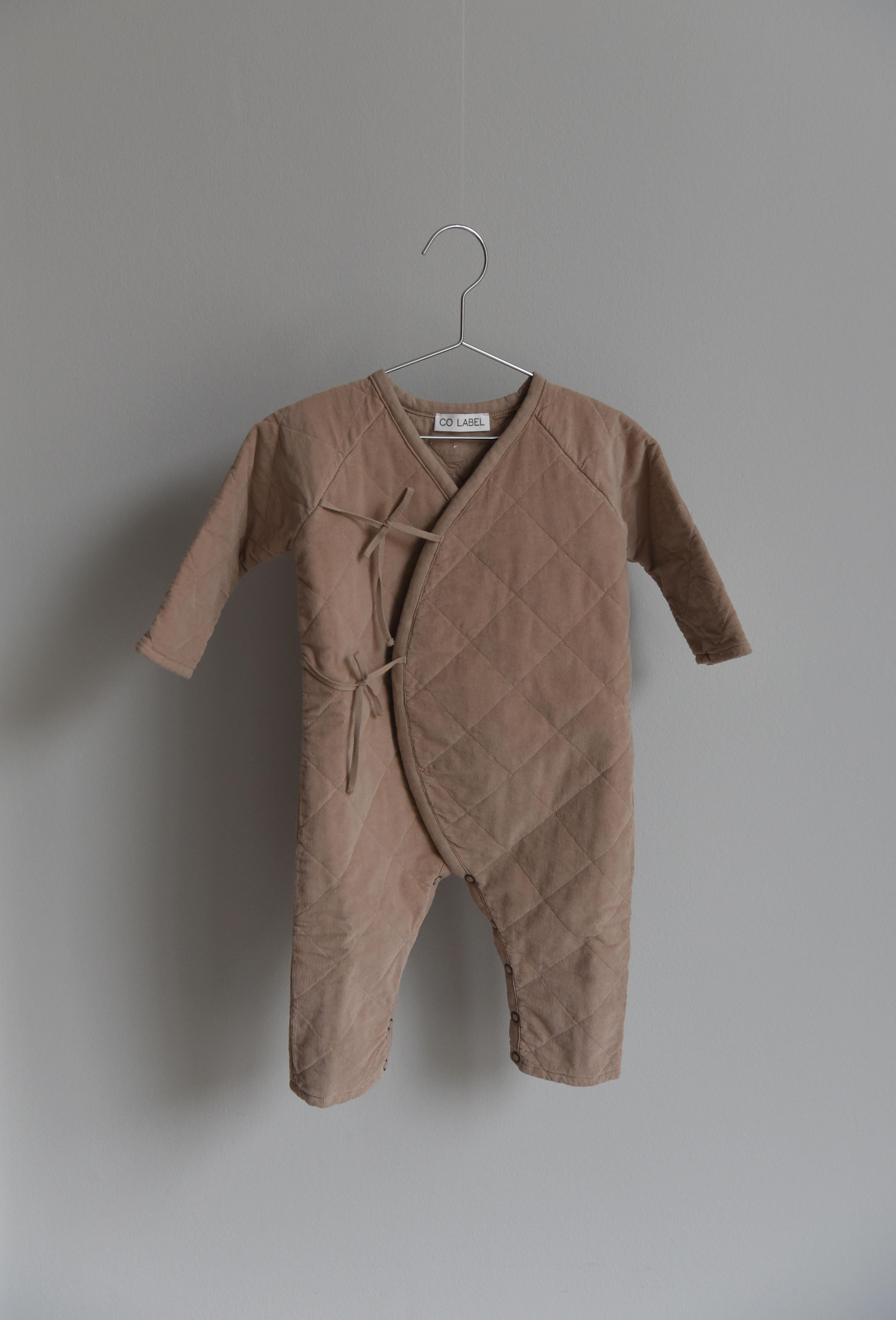 CO LABEL Eddie babysuit - mushroom -