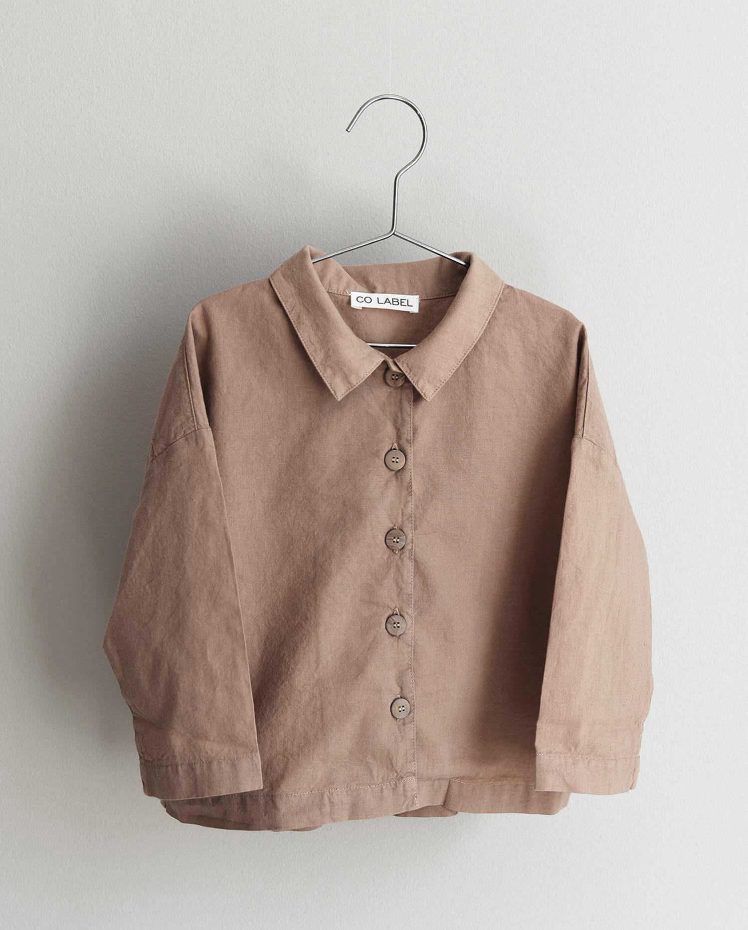CO LABEL Bo shirt - Mushroom -
