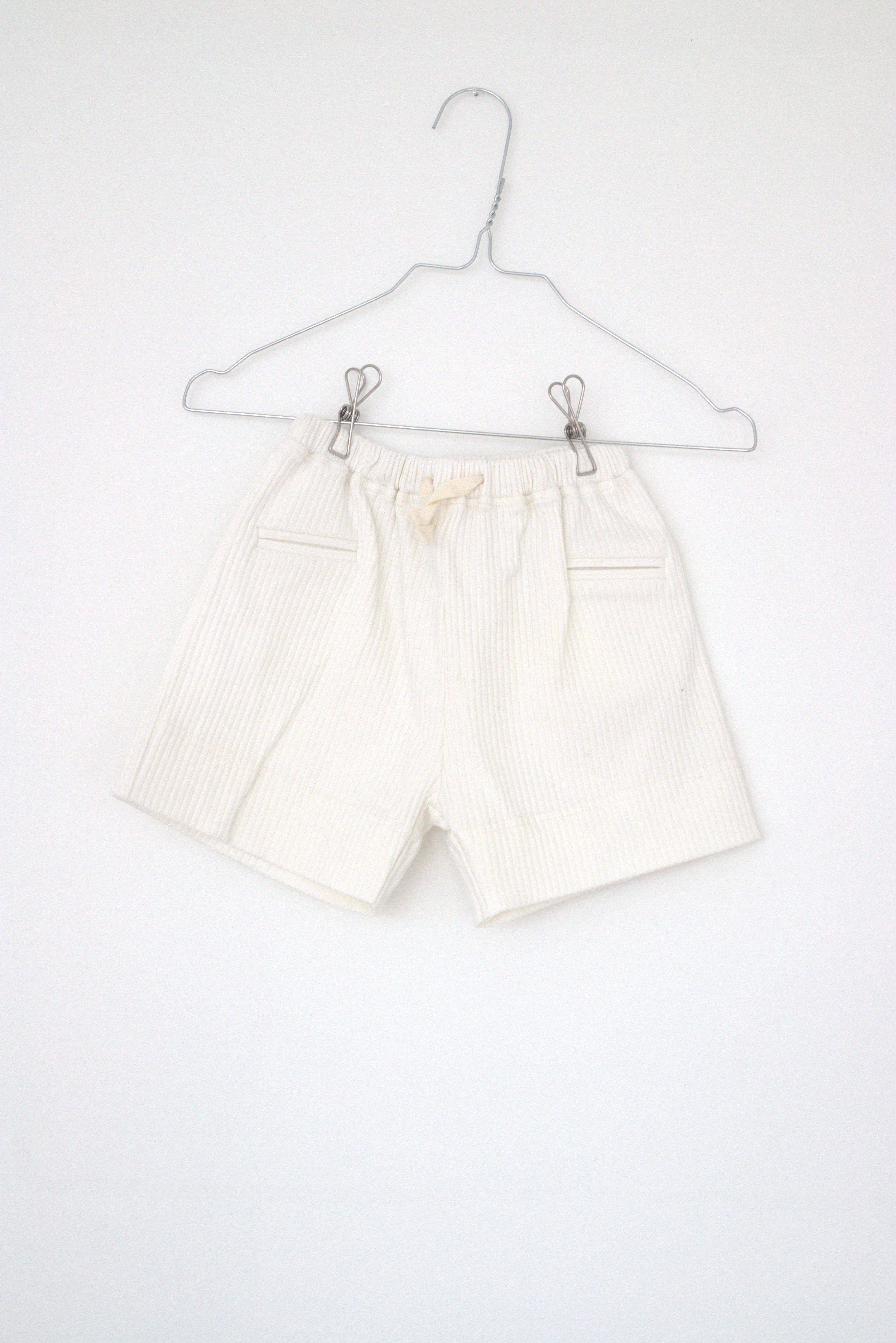 Lah Lan Rib shorts - Snow -