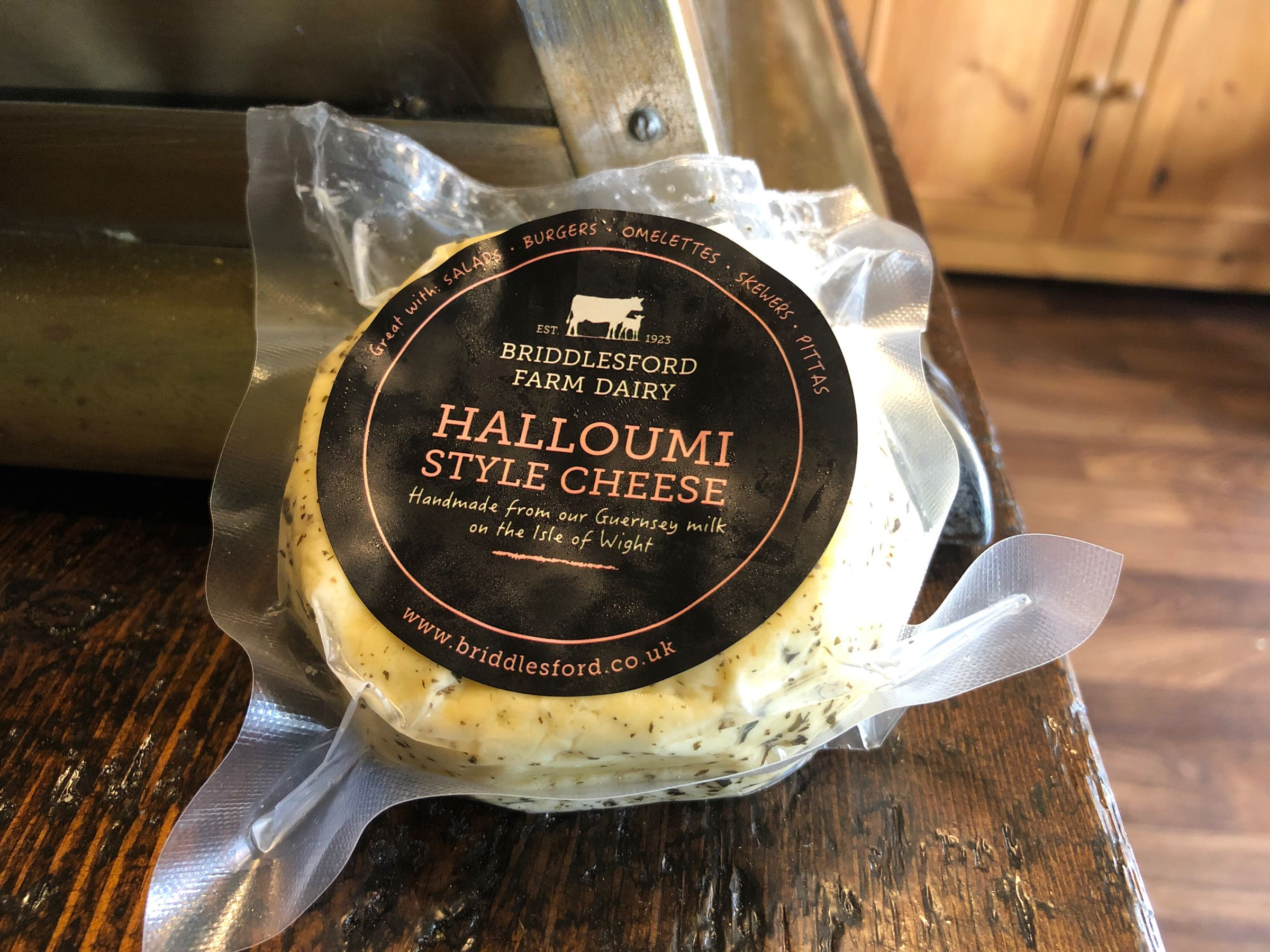 Briddlesford Dairy Halloumi-Style Cheese