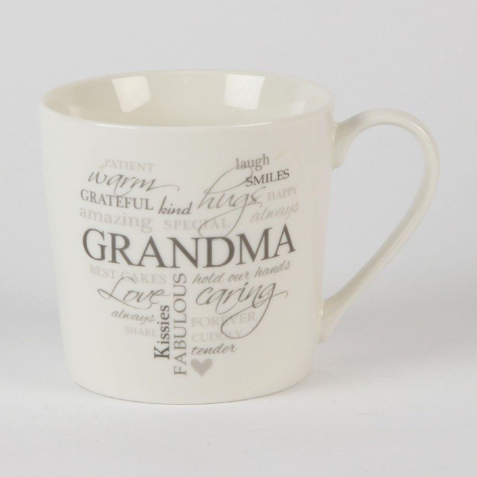 Grandma Typography Mug