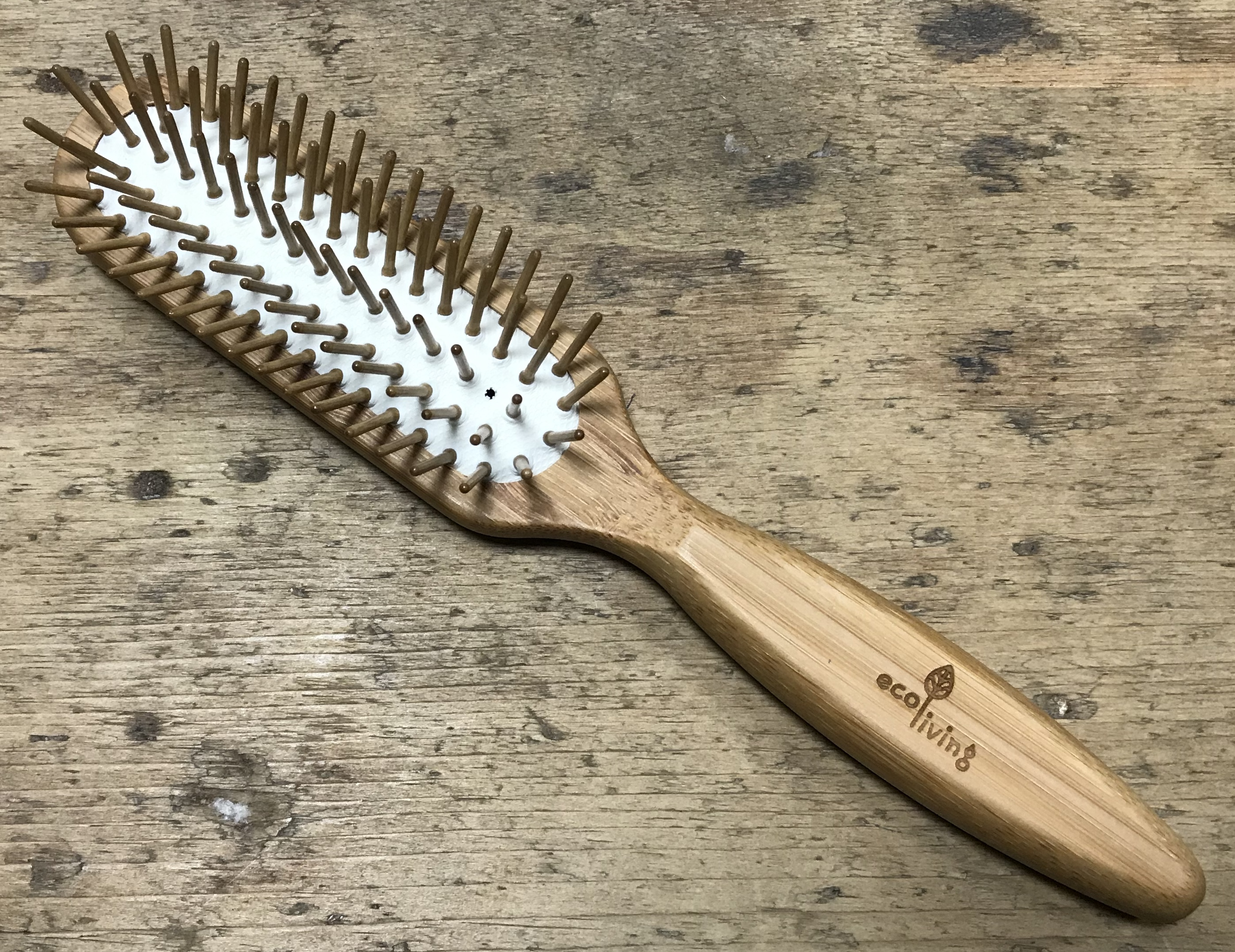 Bamboo Hairbrush - With Wooden Pins