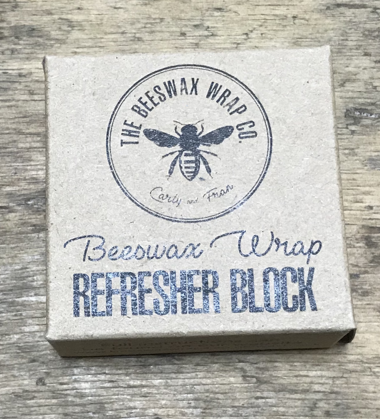 Beeswax Refresher Block