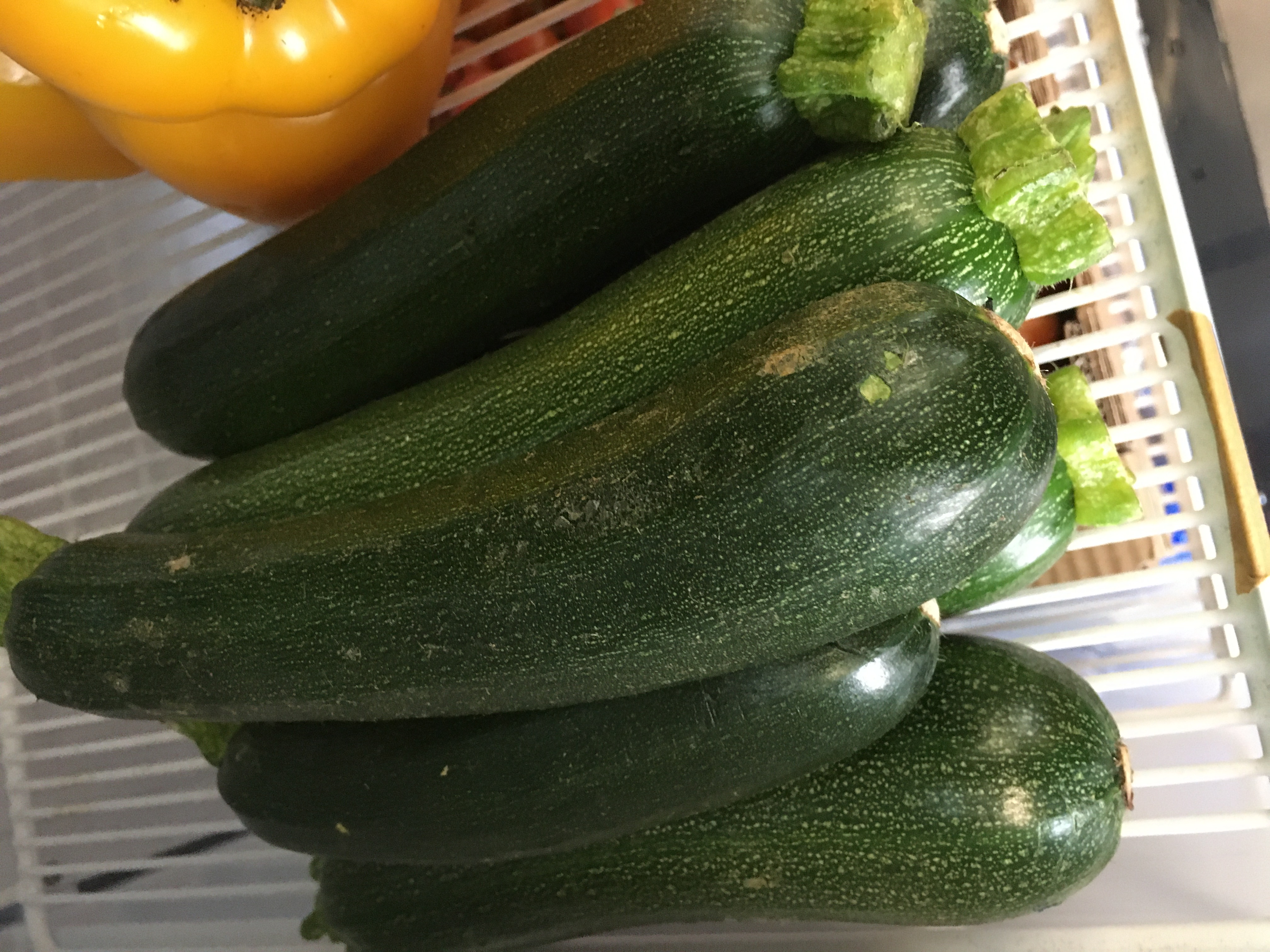Organic Baby Courgettes