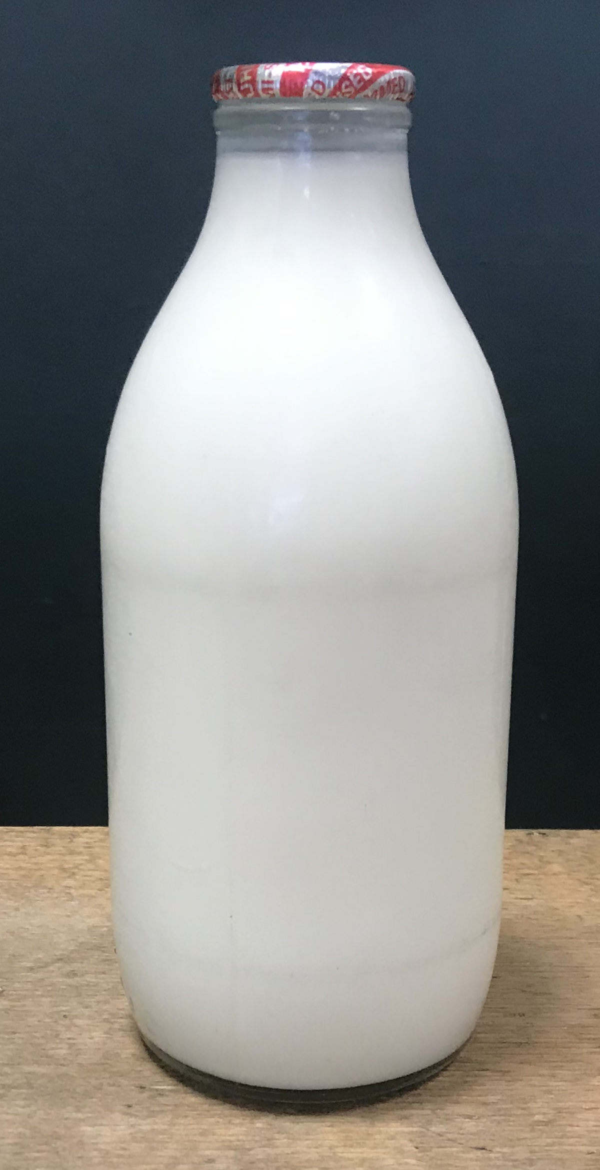 Organic Milk in Glass Bottles