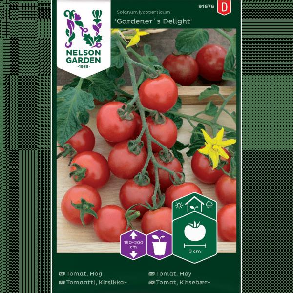 Tomat Körsbär, Gardener`s Delight