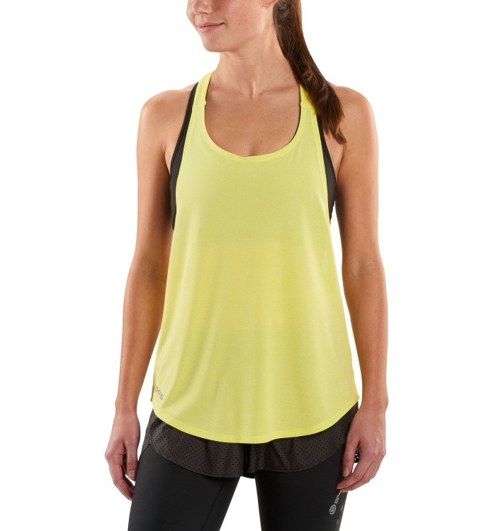 AW Remote T Bar Womens Tank Limoncello/Marle