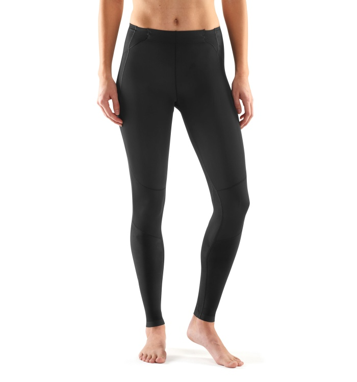 A400 Womens Long Tights Skysc Black