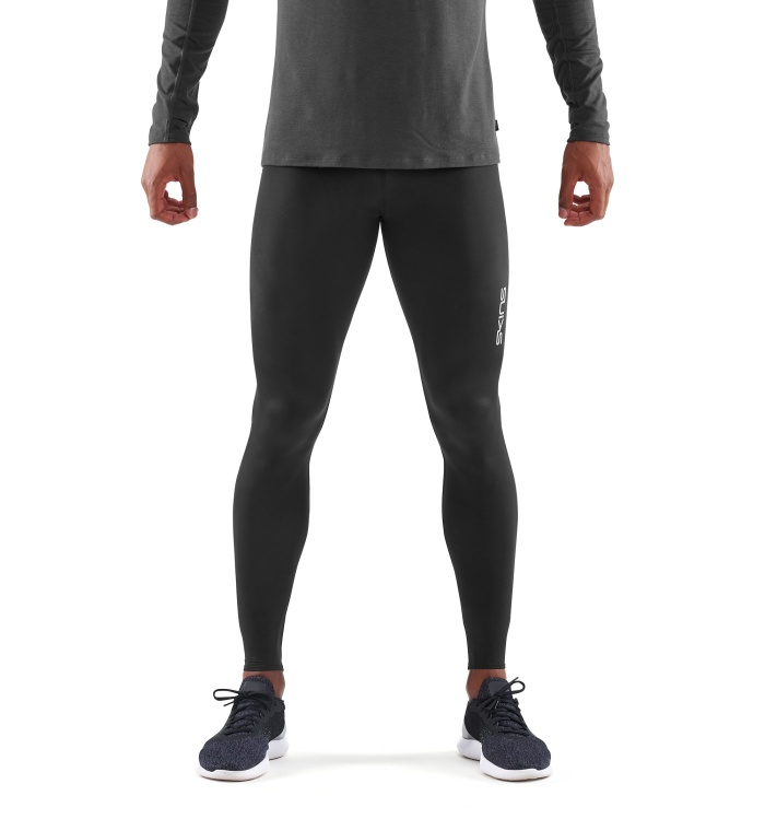 Primary Men Long Tights Black