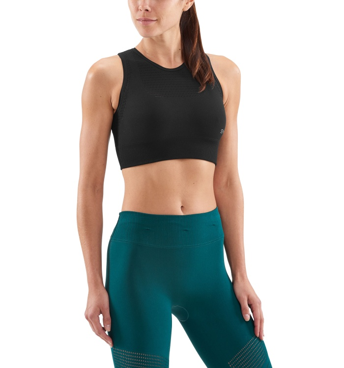 DNAmic Seamless Square W S Bra Black