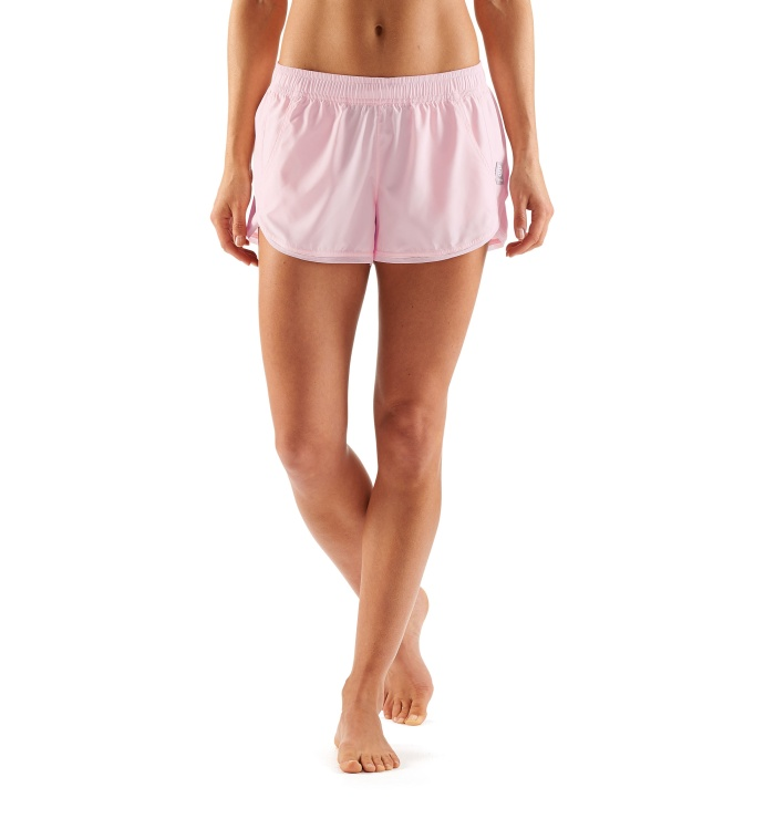 AW System Run Womens Shorts Champagne