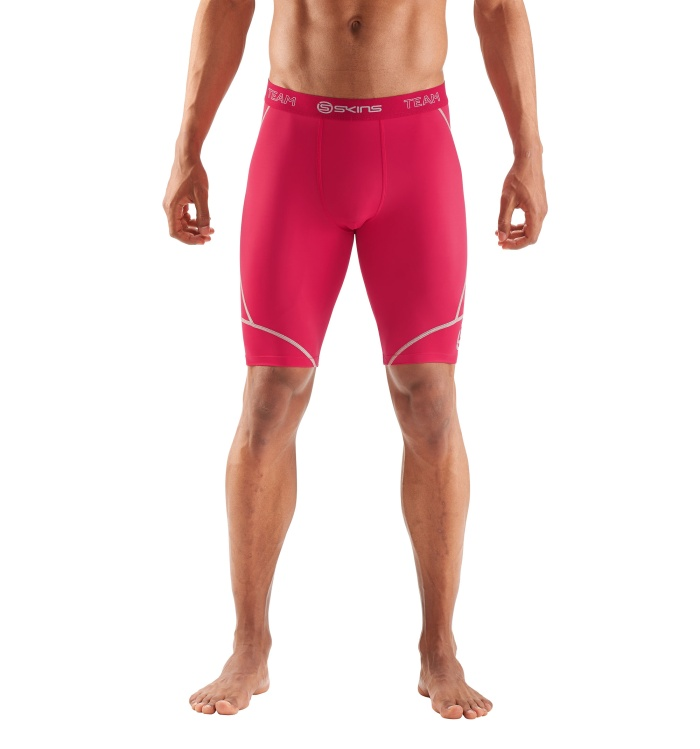 DNAmic Team Mens 1/2 Tights Red