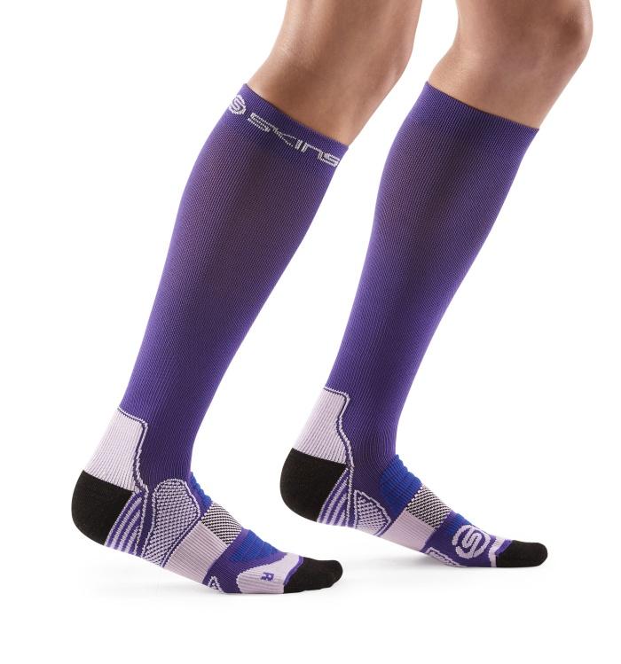 Womens Compression Socks Purple/Violet
