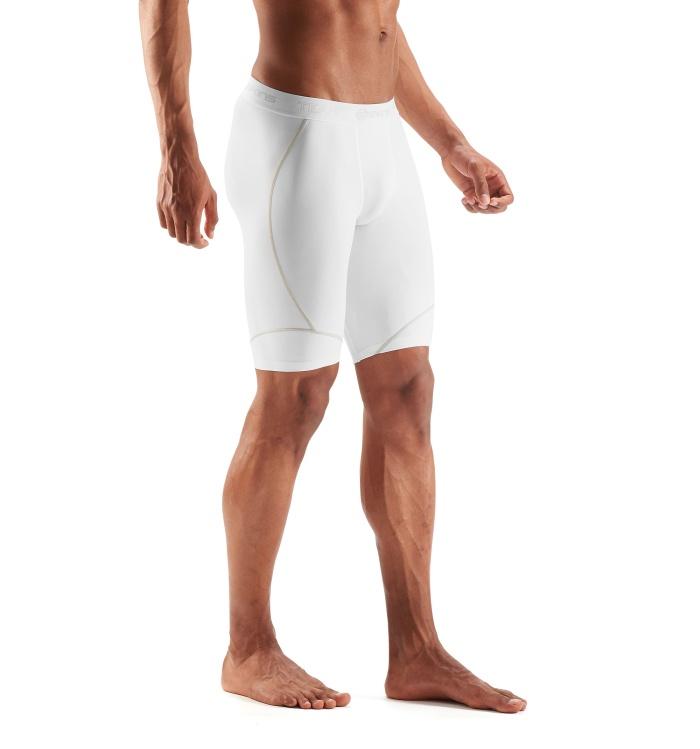 DNAmic Team Mens 1/2 Tights White
