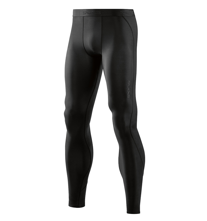 DNAmic Base Mens Long Tights Black/Black