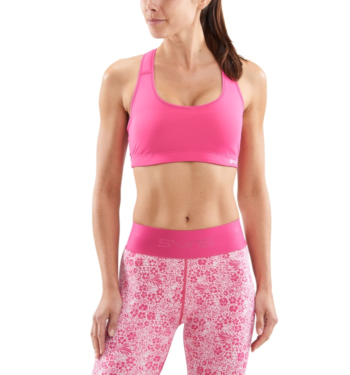 DNAmic Flux Womens Sports Bra Pink