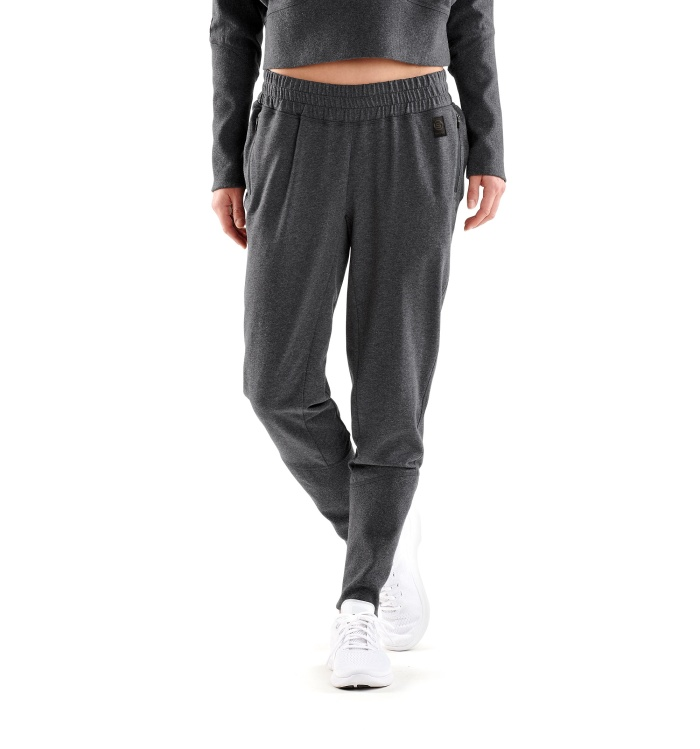 AW Spade Light Fleece W Pants Charcoal Marle