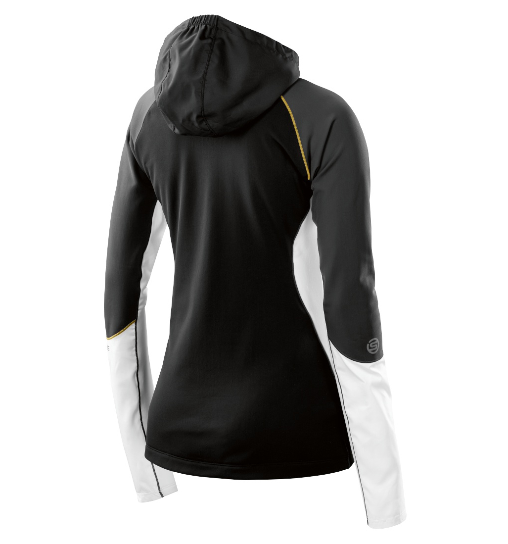 AW Orion Wmns LS Hoodie Black/Cloud
