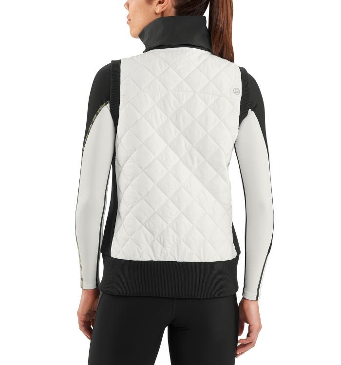 AW Vest Women Puffer Jacket Ceramic/Black
