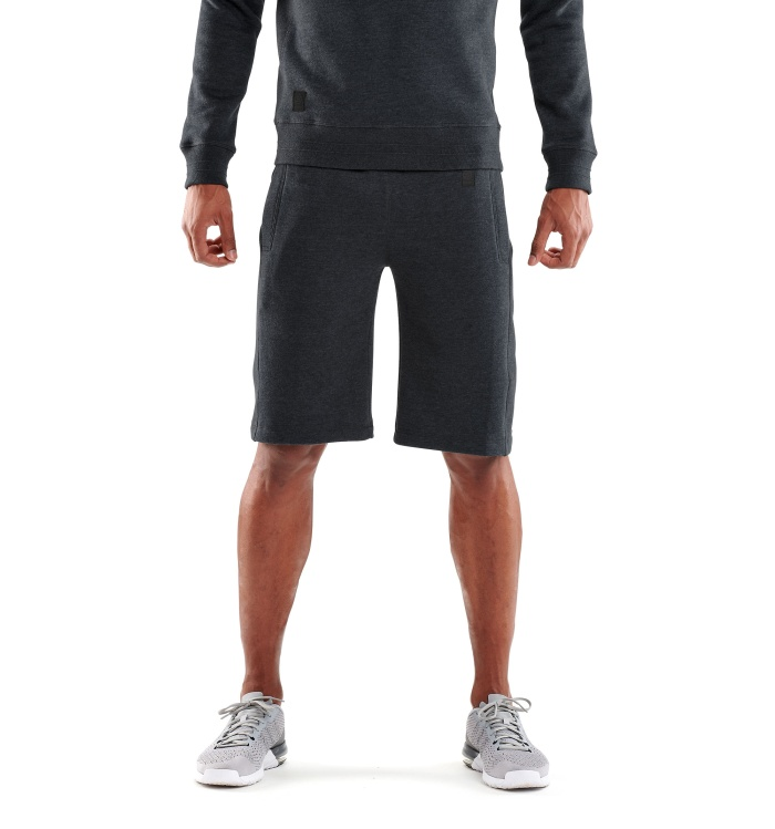 AW Linear Tech Fleece M Short Charcoal Marle