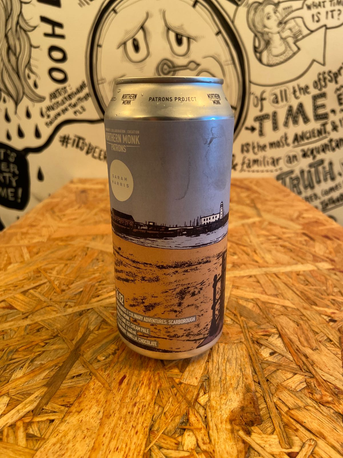 Northern Monk Patrons // Double Cone Ice Cream Pale 8.2%