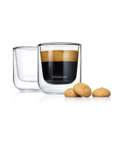 BLOMUS NERO Espressoglas 2-pack
