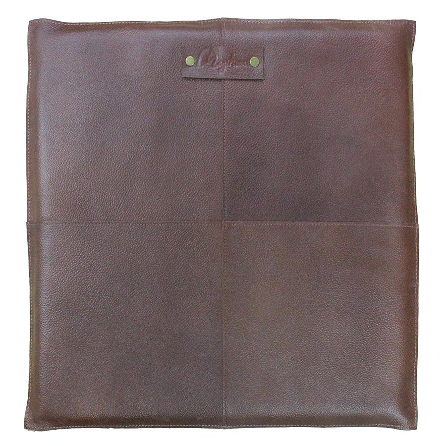 SITTDYNA brun/läder