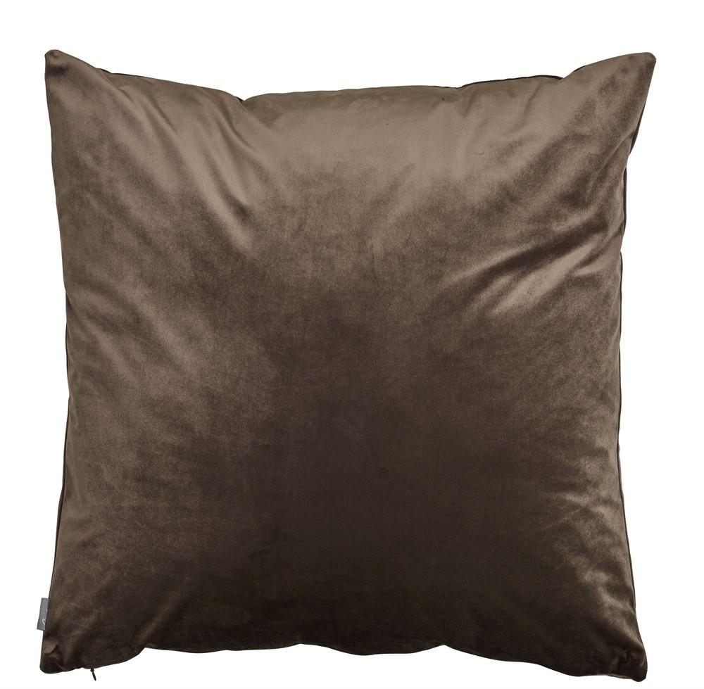 KUDDFODRAL brun/sammet 60x60