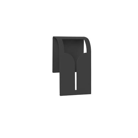 KLÄMMA svart, för disktrasa/kökshandduk