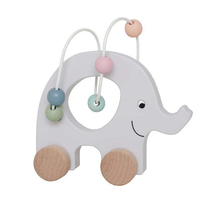 RULLDJUR elefant