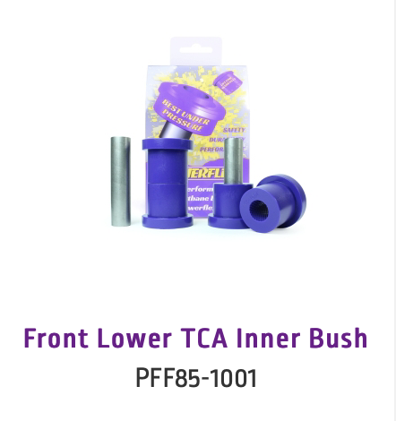 Front Lower TCA Inner Bush (PFF85-1001 & PFF85-1001H)
