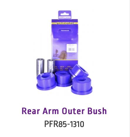 Rear Arm Outer Bush (PFR85-1310 & PFR85-1310BLK)