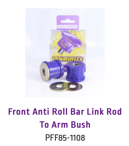 Front Anti Roll Bar Link Rod To Arm Bush (PFF85-1108)