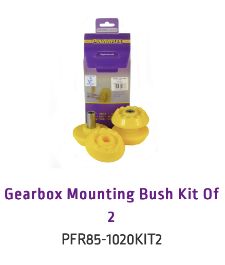 Gearbox Mounting Bush Kit Of 2 (PFR85-1020KIT2 & PFR85-1020KIT2H)