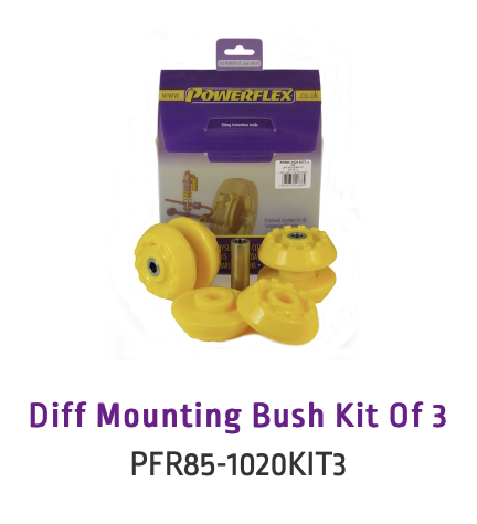 Diff Mounting Bush Kit Of 3 (PFR85-1020KIT3 & PFR85-1020KIT3H)