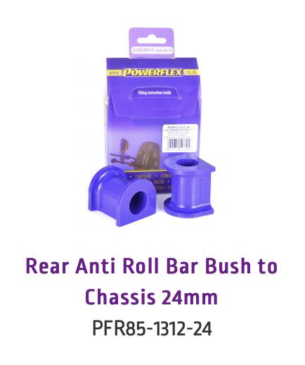 Rear Anti Roll Bar Bush to Chassis 24mm (PFR85-1312-24 & PFR85-1312-24BLK)