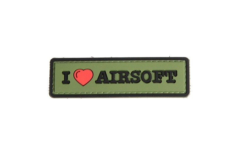 """GFT """"I love airsoft"""" patch"""